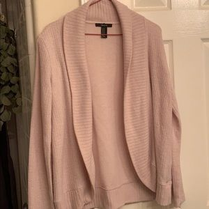 Pink Forever 21 Cardigan